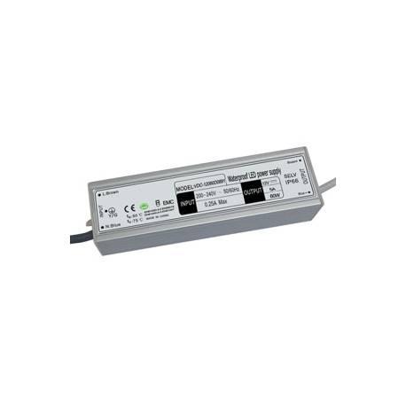 Alimentations électroniques pour leds 12VDC - Étanches - IP66