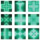 Modules pour pharmacie avec animations pré-programmées, leds vertes ou bleues