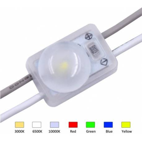 Mini Module 1 LED Samsung 2835 SMD - 0.36W/12V - IP67