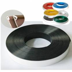 Rouleau de 50m/6 à 10 cm aluminium plié - 6 Coloris