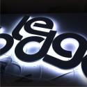 RETRO ECLAIRAGE - Lettres PVC Relief Lumineuses à LEDS