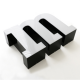 lettre boitier plexiglas lumineux