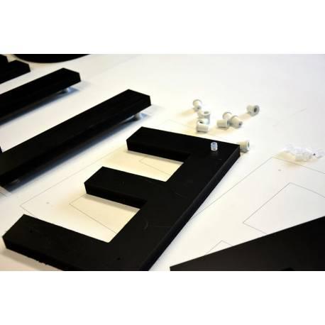 Lettres Relief - PVC Découpé - Enseigne relief en Kit
