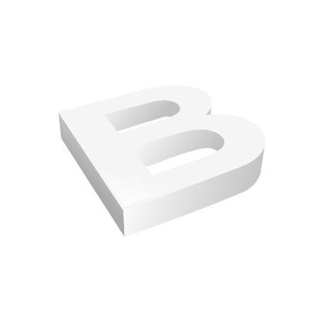 Découpe de lettres relief en PVC pour enseigne