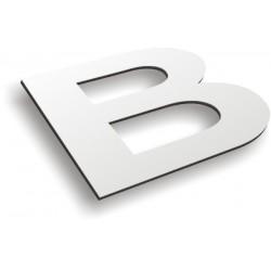 Découpe lettres et logos alu selon fichier fournis