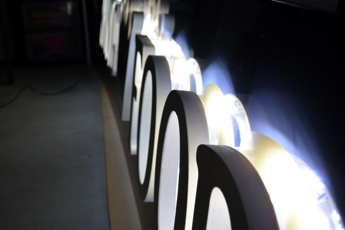 lettre PVC 30 mm