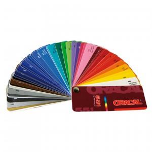 Nuancier coloris Oracal gamme 551